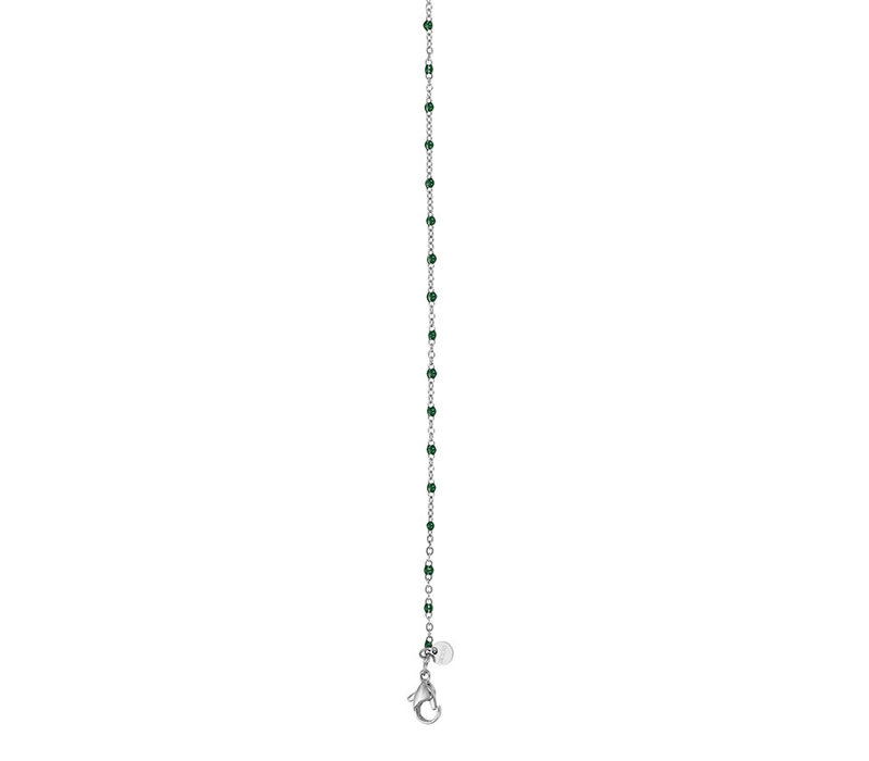iXXXi Halskette Necklace Green beads 50+5cm
