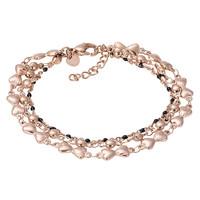 iXXXi Armband Bracelets Botswana  rosegold-schwarz