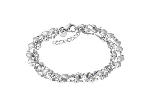 iXXXi Armband Bracelets Botswana silber-grau