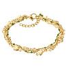iXXXi Armband Braceles Ghana gold-grün