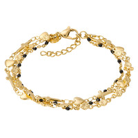 iXXXi Armband Bracelets Ghana gold-schwarz