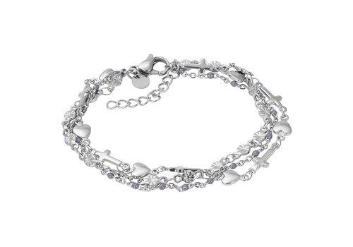 iXXXi Armband Bracelets Ghana silber-grau
