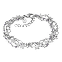 iXXXi Armband Bracelets Kenya silber-grau