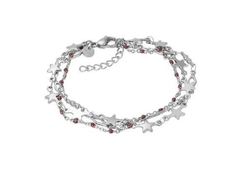 iXXXi Armband Bracelets Kenya silber-braun
