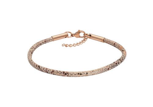 iXXXi Armband Brace Schlangenprint rosegold