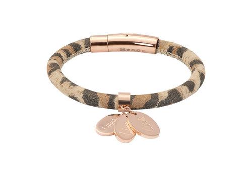 iXXXi Armband Brace Leoprint rosegold