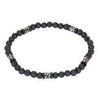iXXXi Herren Armband Bracelets Zanzibar Leo schwarz