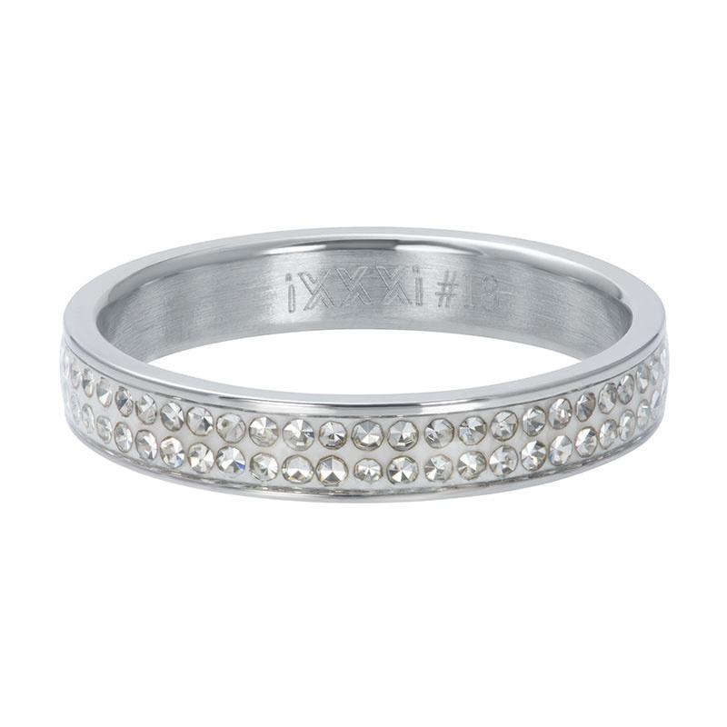 iXXXi Füllring Zirkonia Light Siam silver