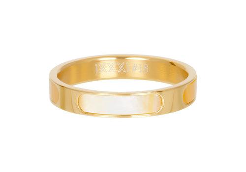Füllring 4 mm Aruba gold