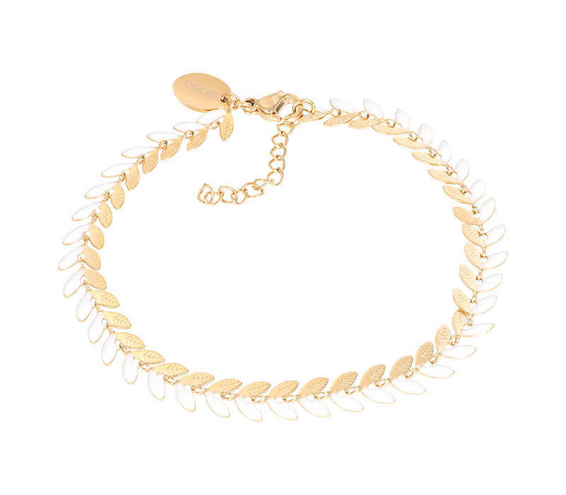 Armband Malediven weiß gold
