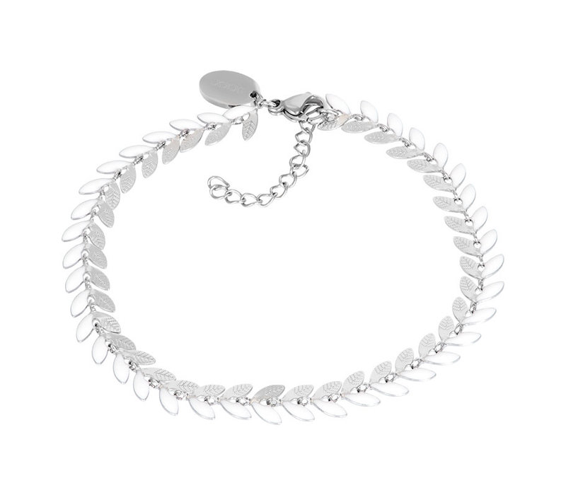 Armband Malediven weiß silber