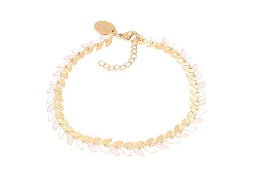 Armband Malediven rosa gold