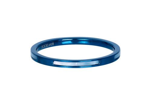 Füllring 2 mm Bonaire blau