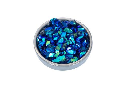 iXXXi Top Part drusy capri blau