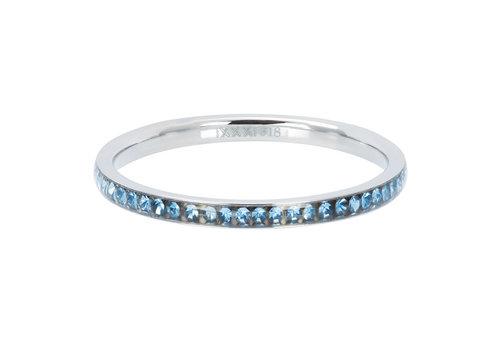 Füllring 2 mm Zirkonia Light Sapphire