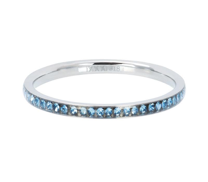 Füllring 2 mm Zirconia Light Sapphire