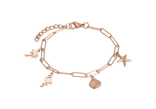 Armband Charms rosegold