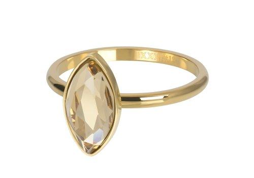 Füllring 2 mm Royal Diamond Topaz gold