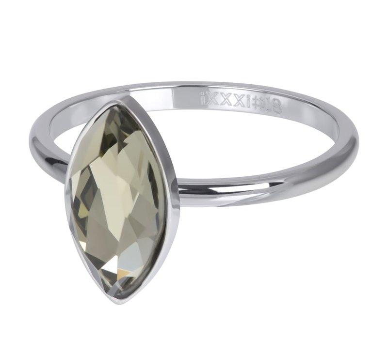 Füllring 2 mm Royal Diamond Crystal silber