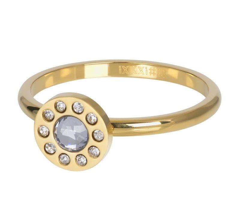 Füllring 2 mm Diamond Circle gold