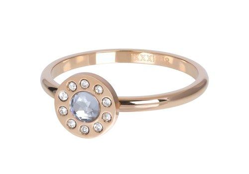 Füllring 2 mm Diamond Circle rosegold