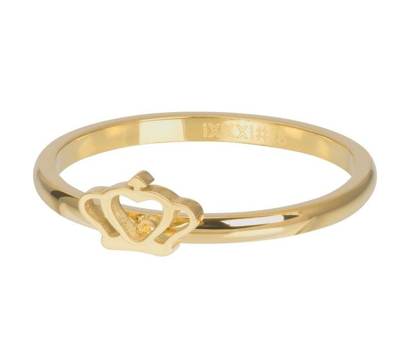 Füllring 2 mm Glamour Crown gold