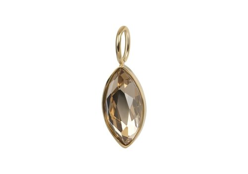 Kettenanhänger Charm Royal DiamondTopaz gold