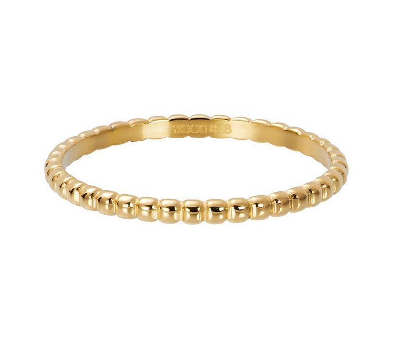 iXXXi Füllring 2 mm Ball gold