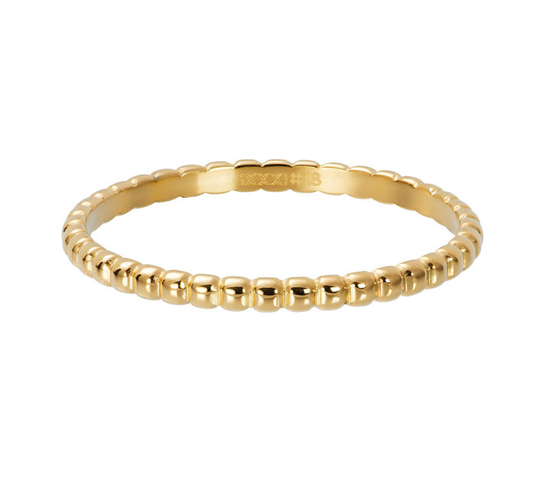 iXXXi Füllring 2 mm Ball gold  - XS