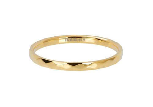 iXXXi Füllring 2 mm Hammerite gold  - XS