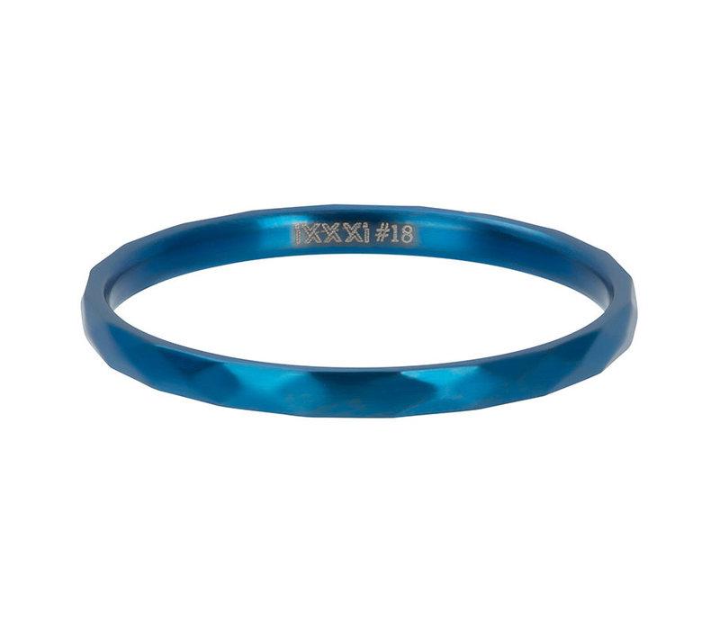 iXXXi Füllring 2 mm Hammerite blau