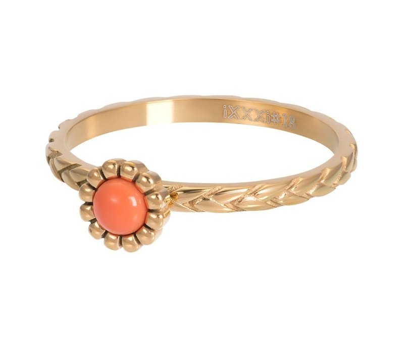 Füllring 2 mm Inspired Coral gold