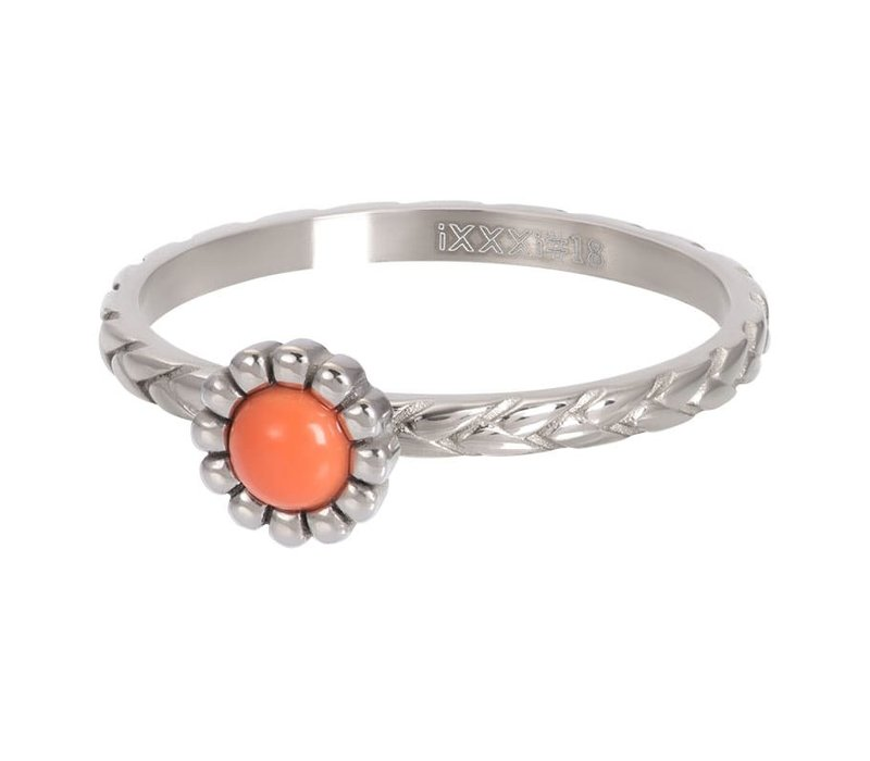 Füllring 2 mm Inspired Coral silber