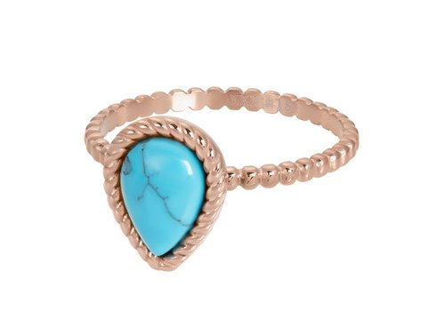 Füllring 2 mm Magic Turquoise rosegold