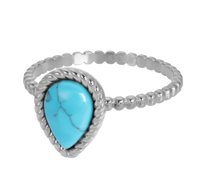 Füllring 2 mm Magic Turquoise silber