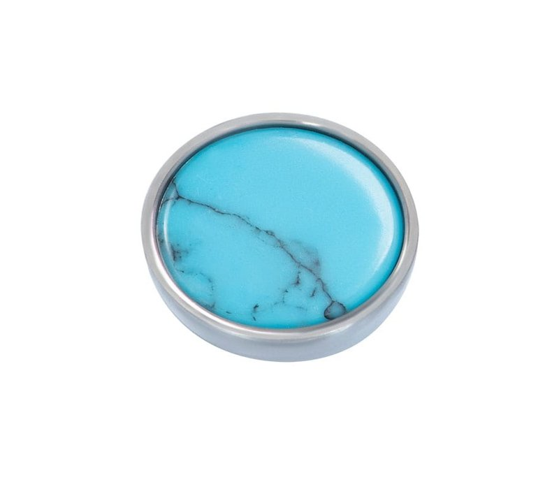 Top Part Bohemian Turquoise silber