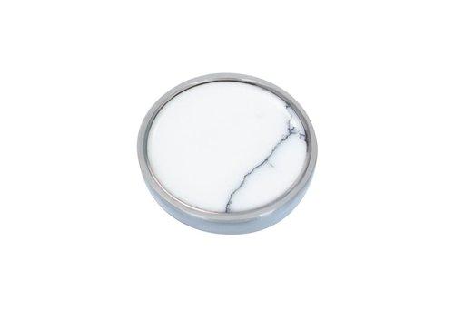 Top Part Bohemian White silber