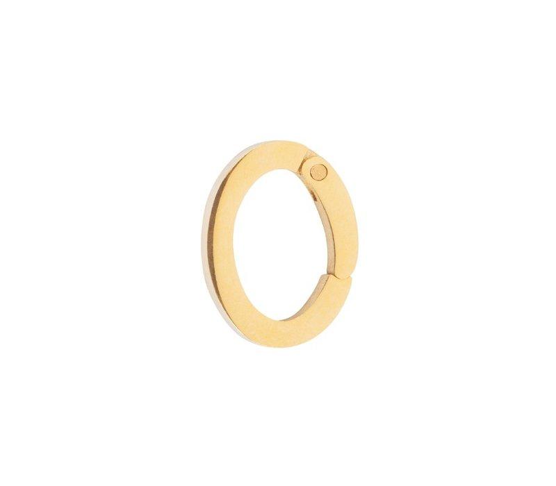 Kettenanhänger Loop Big gold