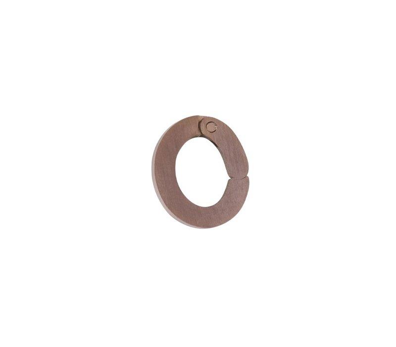 Kettenanhänger Loop Small braun