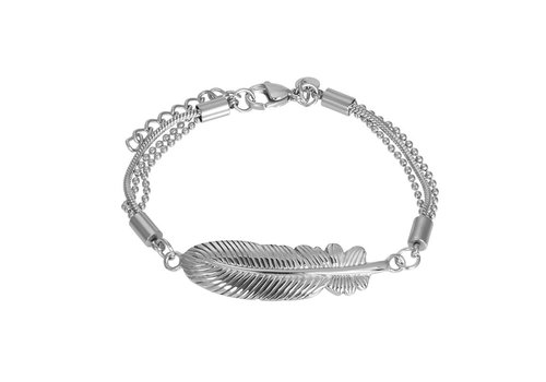 Armband Feather silber
