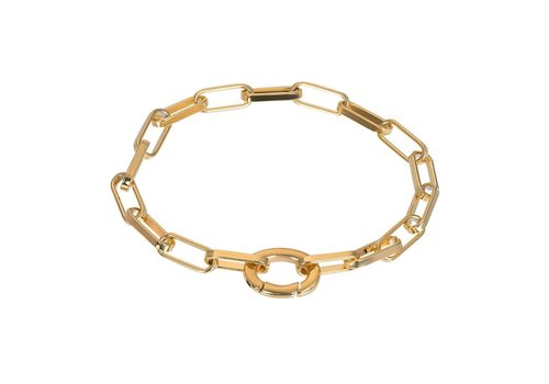 Armband Square Chain gold