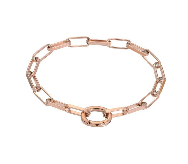 Armband Square Chain rosegold