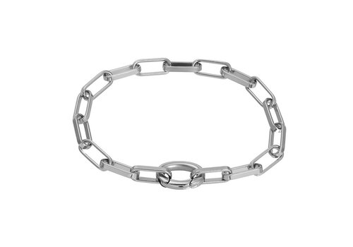 Armband Square Chain silber