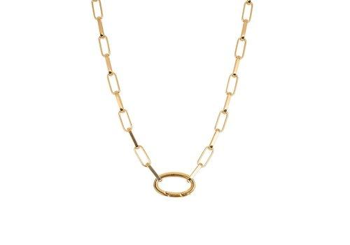 Halskette Square Chain gold