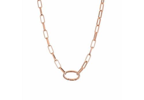 Halskette Square Chain rosegold