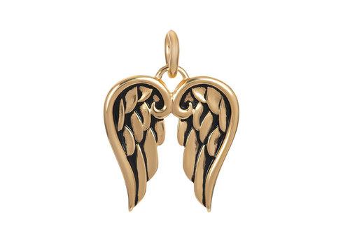 Kettenanhänger Wings gold