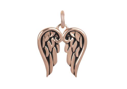 Kettenanhänger Wings rosegold