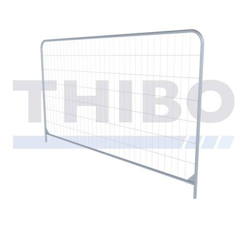 Thibo Pré galvanized mobile fence, type Apollo 3 - light, Round Top