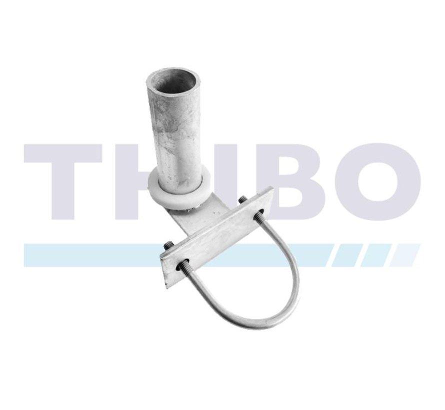 Hinge for tube Ø60 mm