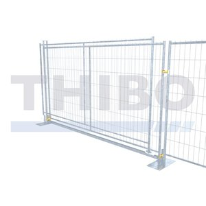 Sliding gate set